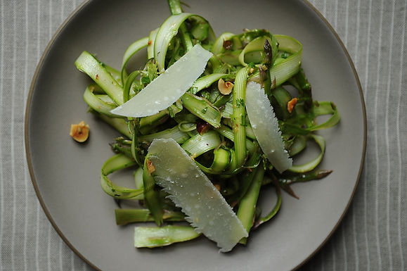 Shaved Asparagus Salad