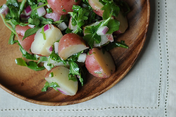 Potato Salad with Arugula and Dijon Vinaigrette
