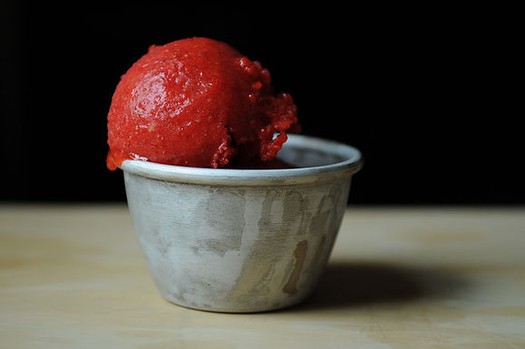 Genius Recipe: The River Café's Strawberry Sorbet