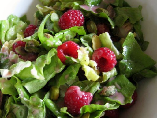 Raspberry Salad