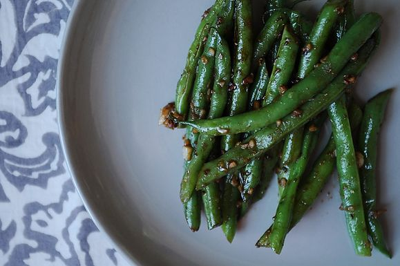 Asian Garlic String Beans
