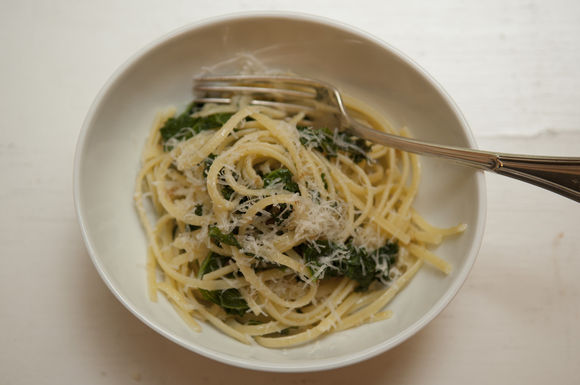 Linguine with Bread Crumbs