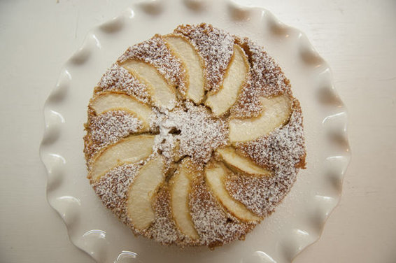 Rum Apple Cake