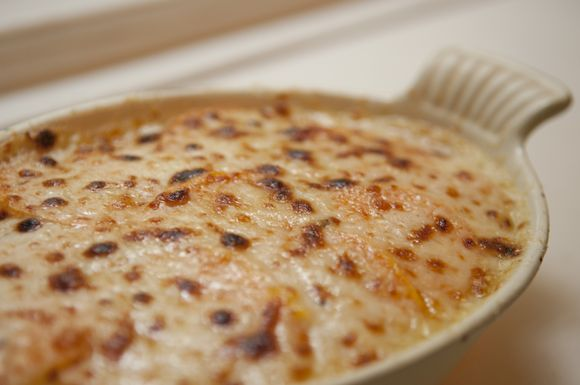 Individual Sweet Potato Gratins