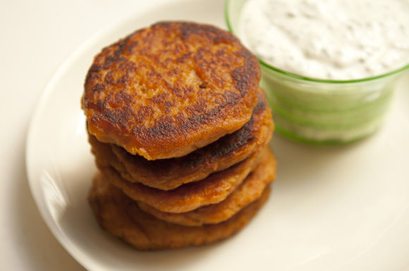 Orna &amp; Ella's Sweet Potato Pancakes