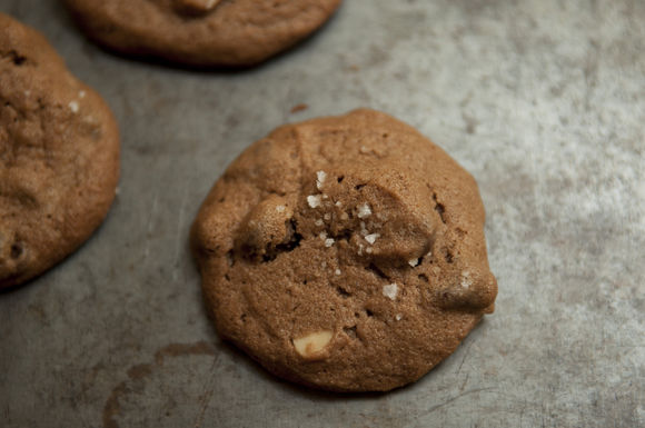 Salted Double Chocolate Peanut Butter Cookie