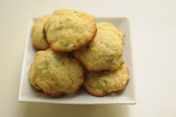 Zucchini- Lemon Cookies