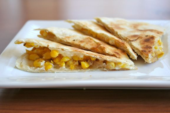 Roast Corn Quesadilla