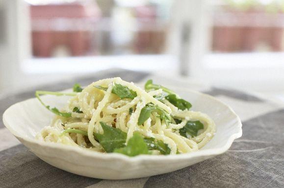 Lemon Ricotta Spaghetti