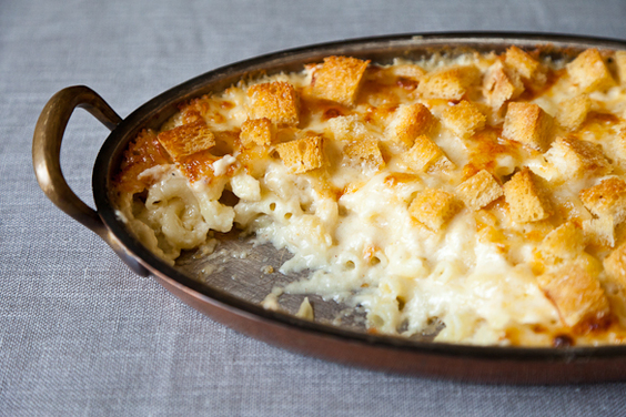 Martha Stewart's Macaroni and Cheese recipe from food52
