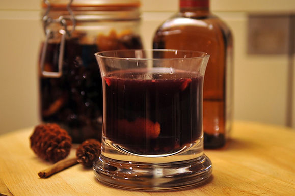 Spiced Gl&oslash;gg with Port Wine and Cointreau