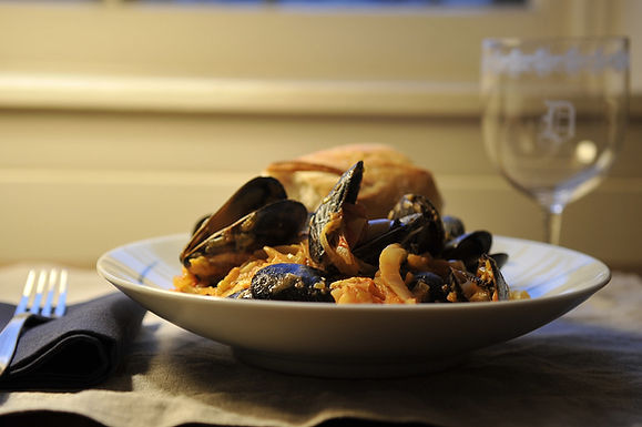 Mussels for One or Two