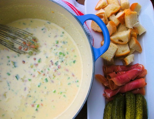 Black-Eyed Pea Fondue