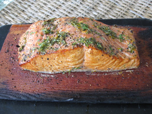 Wine and Honey Salmon