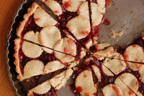 Cherry Almond Torte