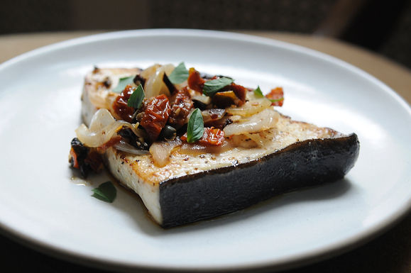 Sicilian-Style Swordfish
