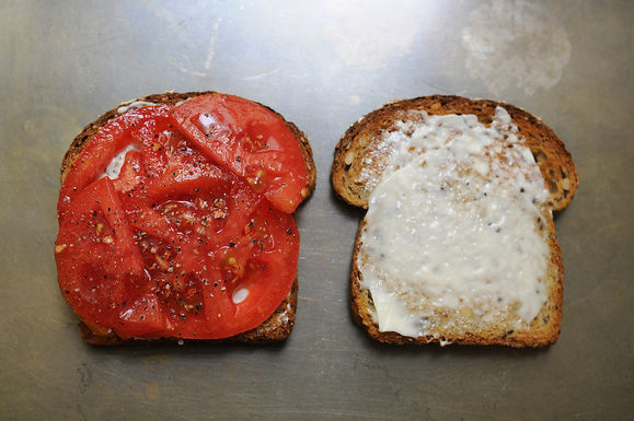 Best Tomato Sandwich
