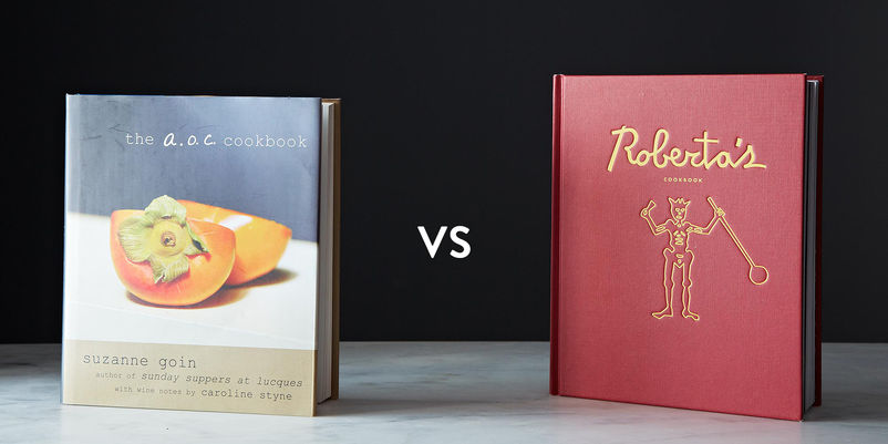 The A.O.C. Cookbook vs. Roberta's Cookbook