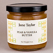 Pear and Vanilla Fruit Butter