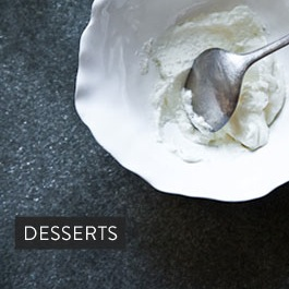 Make ahead desserts