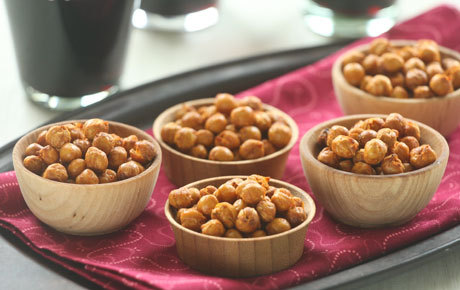 Pimenton Roasted Garbanzos