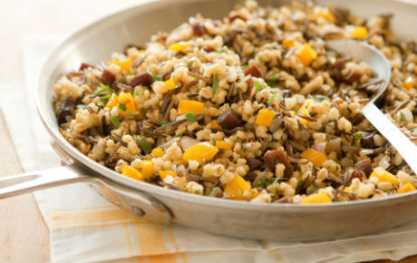 Wild Rice and Barley with Apricots and Tarragon