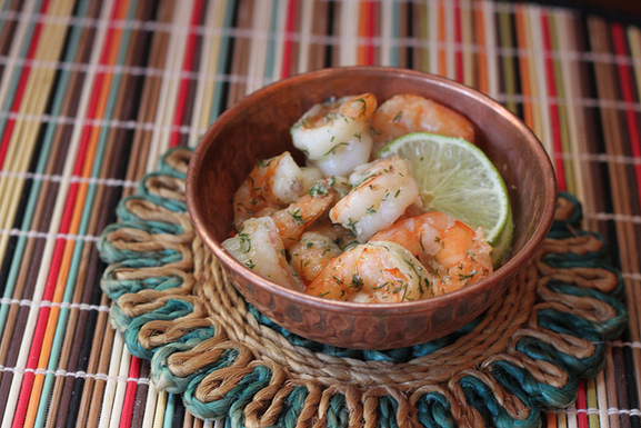 Coconut_lime_dill_shrimp_with_black_pepper