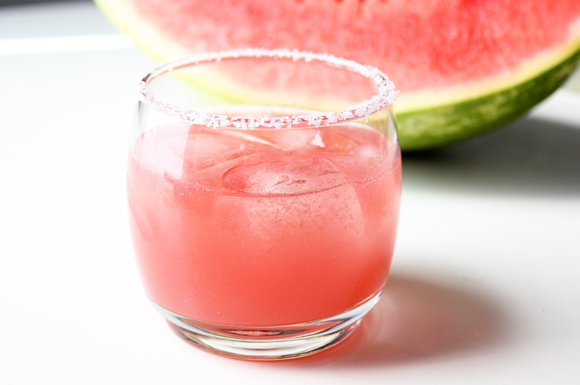Watermelon Jalepeno Margaritas