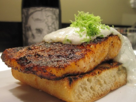 Open-faced-chili-rubbed-salmon-sandwiches-with-lime-yogurt-sauce-031