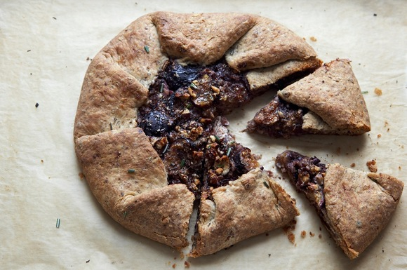 Fresh Fig and Hazelnut Galette