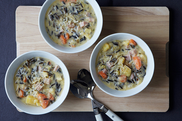 cheesy wild rice and potato soup by ladya your best wild rice recipe ...