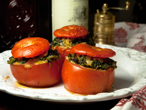 Tomatoes_with_spicy_chard