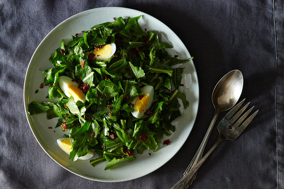 Fine and Dandelion Salad