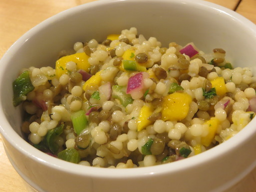 Israeli Couscous & French Lentil Salad