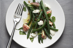 Make a Little, Buy a Little: Green Beans in Fig Vinaigrette