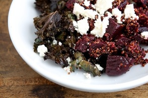 Make This Tonight: Warm Quinoa Salad with Roasted Kale & Beets