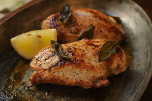 Easy Everyday: Chicken Breast with Fresh Sage