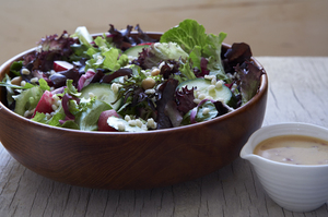 Make This Tonight: Big Beautiful Salad with Lemon-Miso Dressing