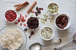 Easy Everyday: Fruit and Hemp Seed Muesli