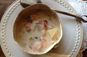 Make This Tonight: Smoked Salmon Chowder
