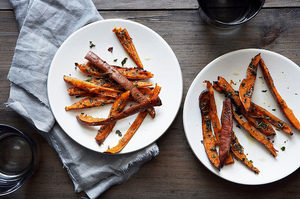 Easy Everyday: Herb-Roasted Sweet Potato Skins