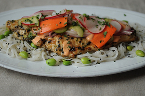 Make This Tonight: Vietnamese-Inspired Sweet & Spicy Catfish with Pickled Vegetables