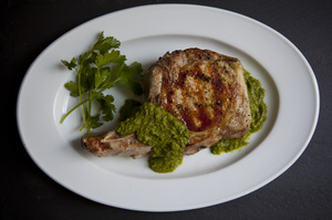 Easy Everyday: Grilled Pork Chops with Chimichurri