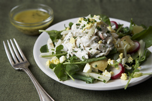 Make This Tonight: Crab Salad with Lemon Dressing
