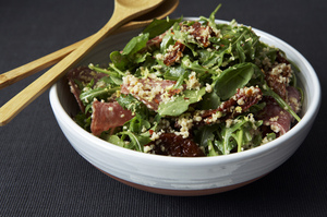 Easy Everyday: Sun-Dried Tomato and Salami Couscous Salad