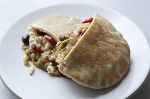 Make This Tonight: Mediterranean Pita Sandwich