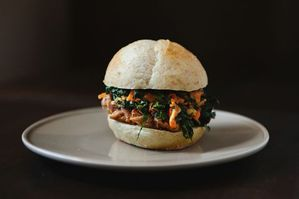 Dinner Tonight: Carrot Soup + Chinese Pulled Pork Sandwiches