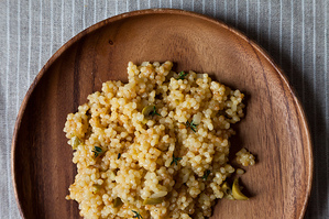 Easy Everyday: Citrus Olive Couscous