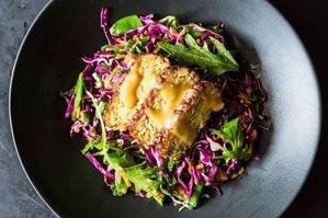 The New Veganism: All About Tempeh (plus a Mizuna Salad with Miso)