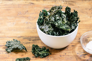 Small Batch: Homemade Kale Chips